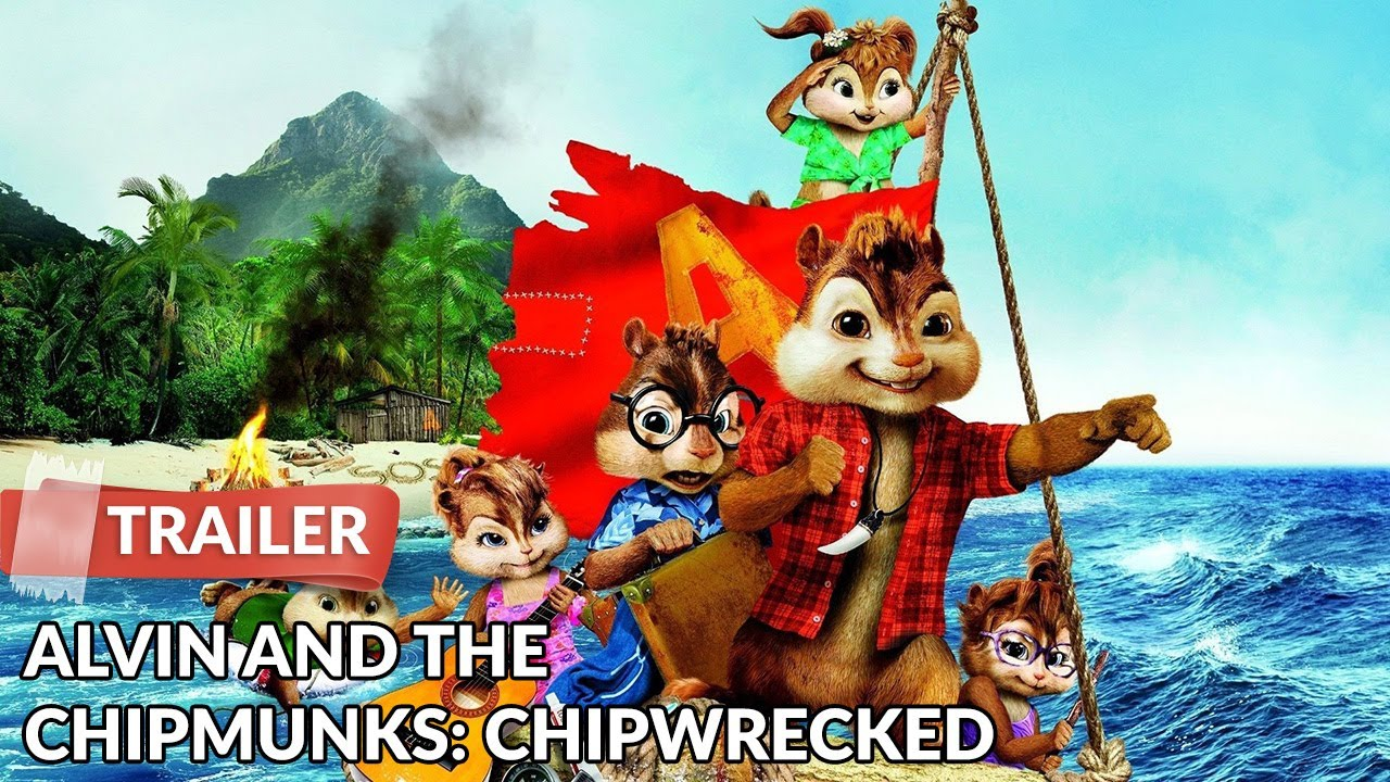Alvin And The Chipmunks Chipwrecked 2011 Trailer Hd Justin Long Youtube