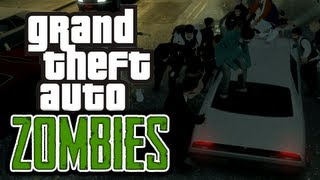 GTA 4: Zombie Apocalypse! - (Zombies Mod Funny Moments)