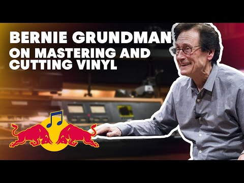 Bernie Grundman on Mastering and Cutting Vinyl | Red Bull Music Academy