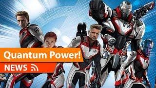Avengers Endgame Quantum Suits & Film Changes thumbnail