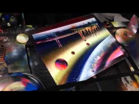 Spray Paint Artist - San Francisco - YouTube