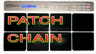 Roland SPD-20X Octapad Patch Chain Rajju Bhai Kaithal