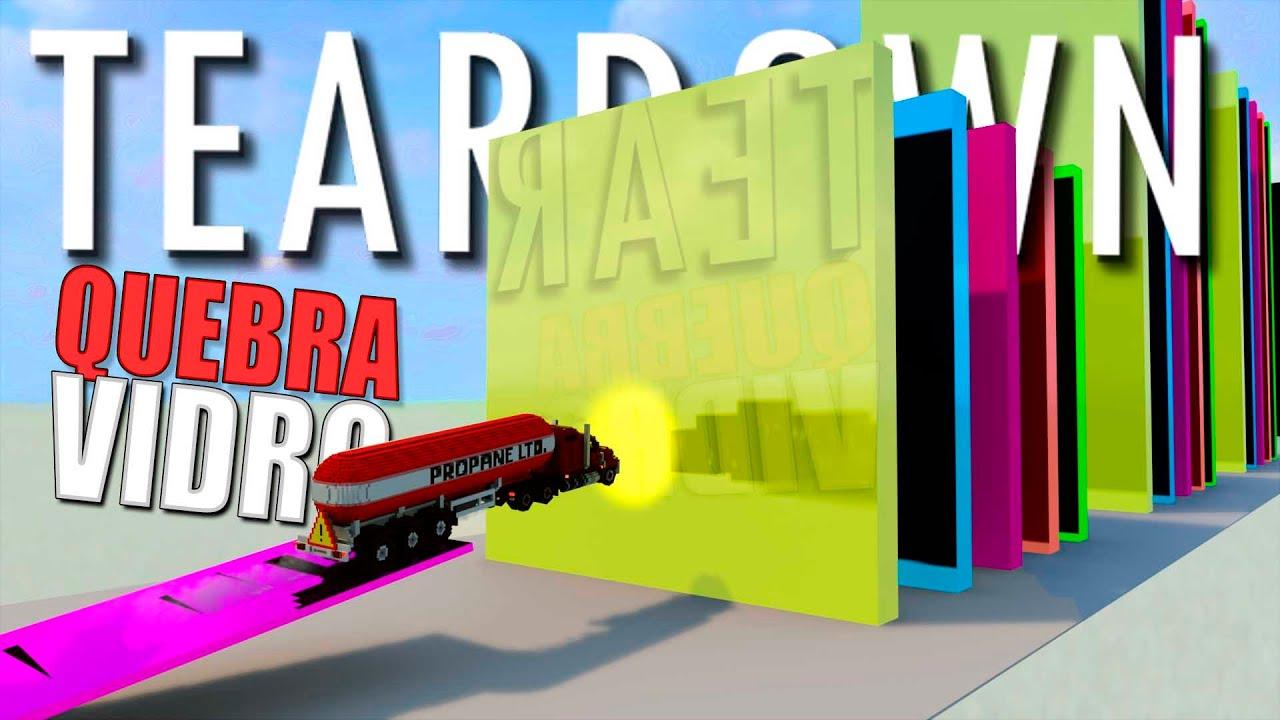 Download Destruição Satisfatória de vidros no Teardown com Mods