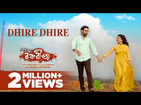 Dhire Dhire | Raktabeez | Zubeen Garg | Deeplina Deka | Latest Song 2018