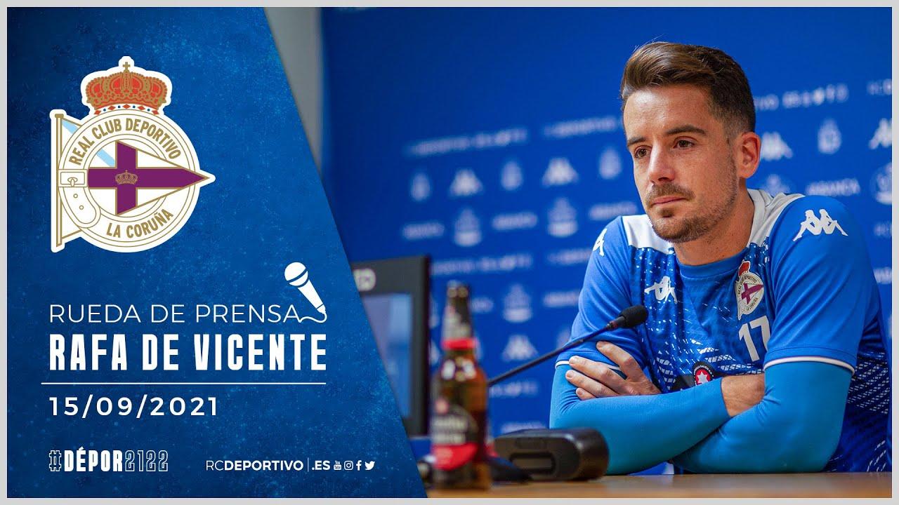 Rueda de prensa de Rafa de Vicente. 15.09.2021
