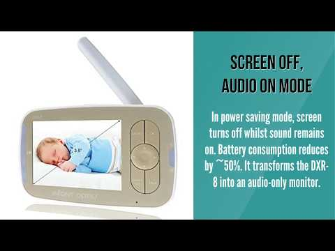 Infant Optics DXR 8 Video Baby Monitor with Interchangeable