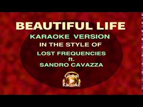 Beautiful Life - In the Style of Lost Frequencies ft. Sandro Cavazza - Karaoke Video with Lyrics