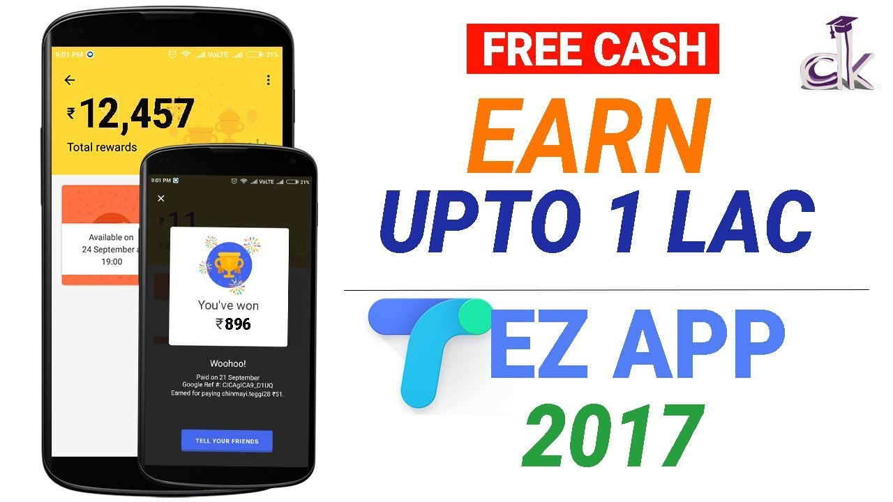 How To Use Google Tez Payment App And How To Earn Money Upto 1 Lakh (NEW)