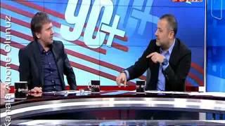 90+ Ntv spor 9 Mart 2015 Fenerbahçe 1-0 Galatasaray TEK PARÇA- TAMAMI