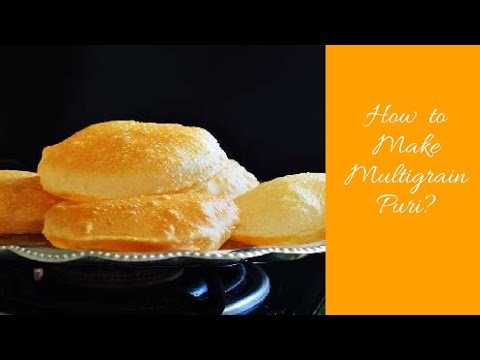 How To Make Multigrain Crispy Masala Poori |Cancer And Diabetic Patients Food Recipes
