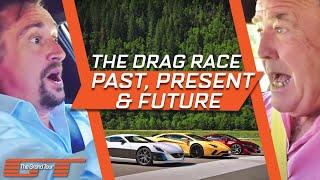 The Grand Tour Aventador NSX and Rimac Drag Race