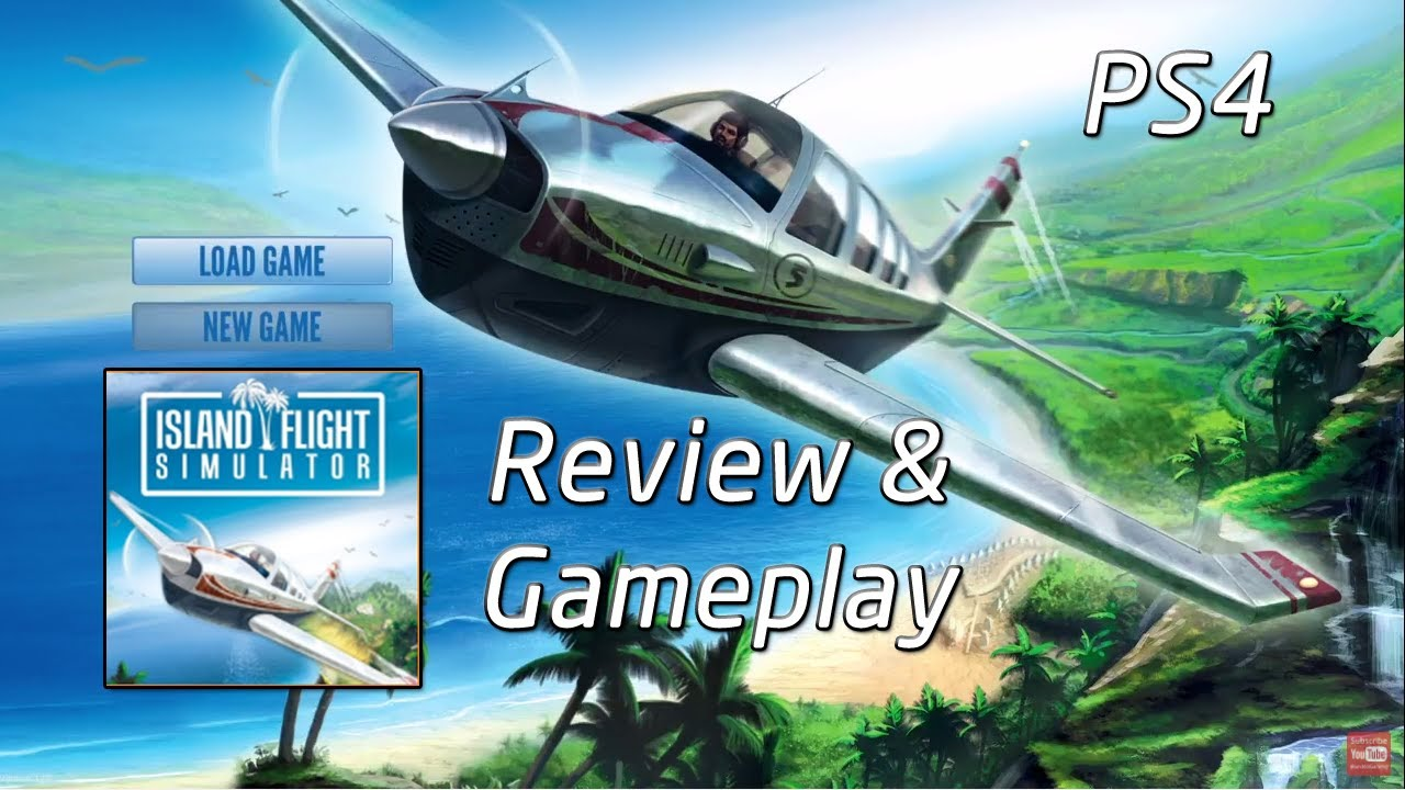 Review and Gameplay | Island Flight Simulator | PS4 - YouTube