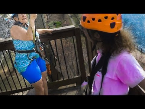 Zip Lining Over The Chattahoochee River In Columbus, GA (March 24,2019)