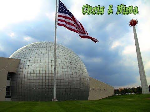 Naismith Basketball Hall Of Fame /  Springfield Massachusetts   CHRIS AND NIMA