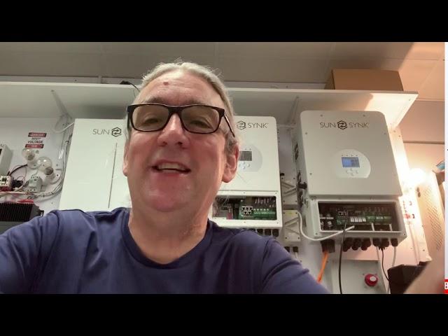 Basic Wiring a Sunsynk inverter