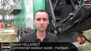 Forexpo : Hantsch présente l'Axtor de Komptech