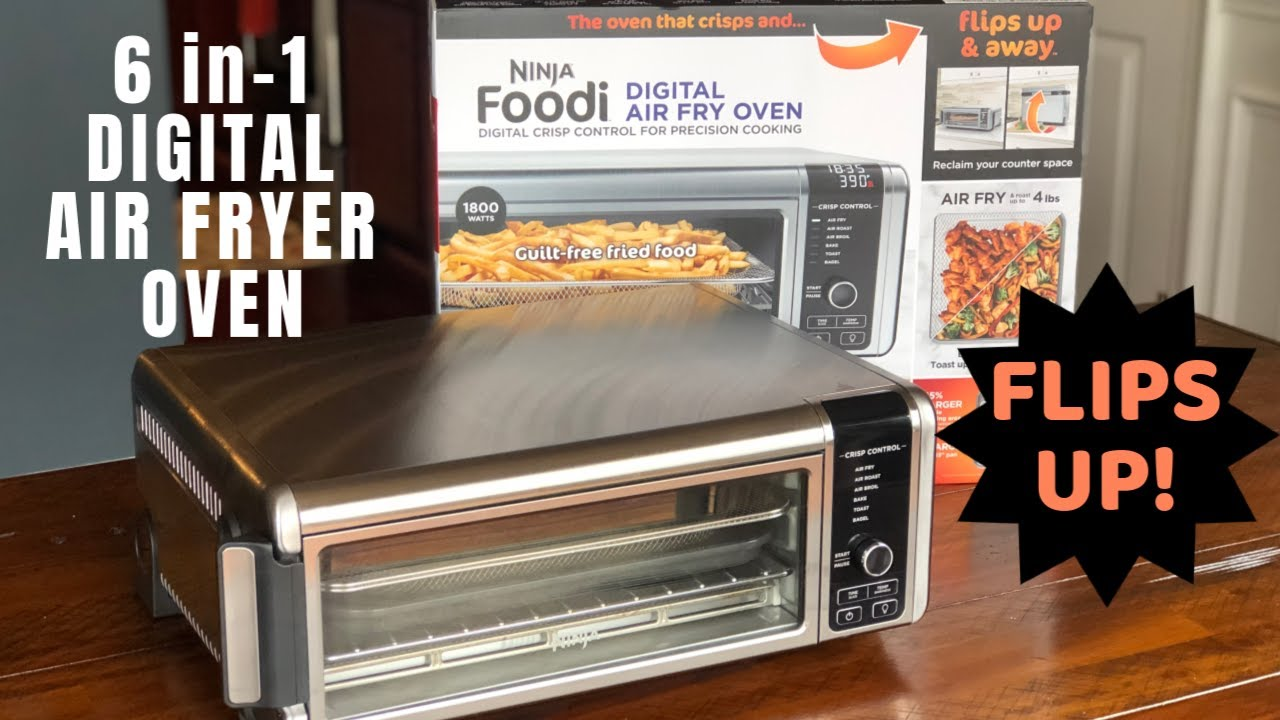 Ninja Foodi Digital Air Fryer Oven Review - YouTube