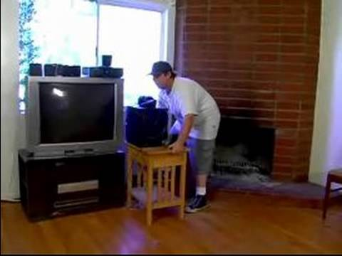 How to Paint a Living Room : Moving Furniture to Paint a Living Room ...
