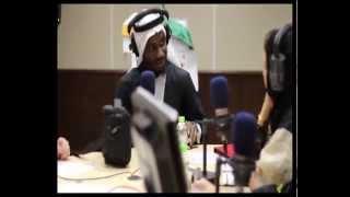 vuclip Hamza Hawsawi, Dr.Rayan Karkadan and Big Hass on Saudia Radio (حمزة هوساوي)