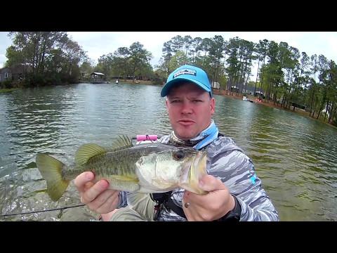 Kayak Bass Fishing Richmond Hill, GA
