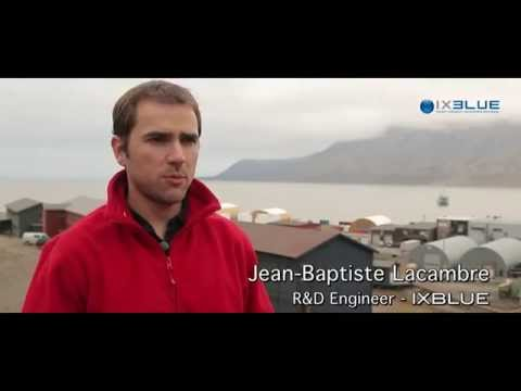 iXBlue FOG and INS technologies in extreme maritime applications - Arctic Challenge