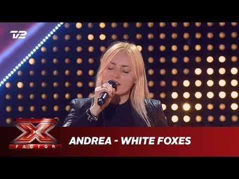 Andrea synger 'White Foxes' - Susanne Sundfør (5 Chair Challenge) | X Factor 2019 | TV 2