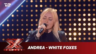 Andrea synger 'White Foxes' - Susanne Sundfør (5 Chair Challenge) | X Factor 2019 | TV 2