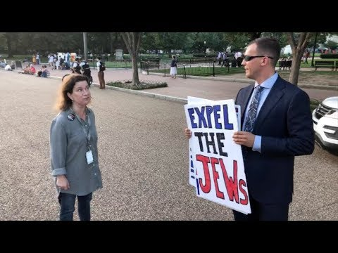 Neo-nazi Patrick Little shows up at White House