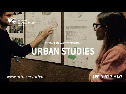 Urban Studies at the Estonian Academy of Arts