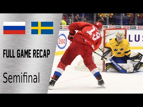 Russia Vs Sweden Semifinal Amazing Game Highlights | January 4th, WJC 2020