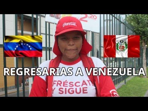 REGRESARÍAS A VENEZUELA? ENTREVISTA A VENEZOLANOS EN PERÚ  - Eduard Millan