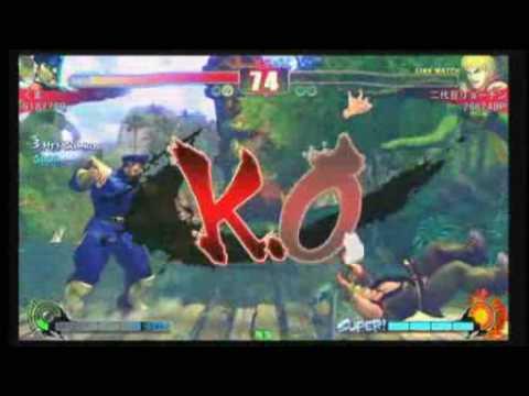 SF4:Kuma (Ve) vs Ryo-Chin (Ke) - Team Kanagawa vs Team Chiba - 17-10-2009