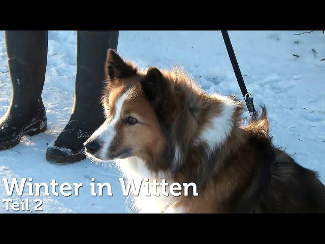 Wintereinbruch in Witten - Teil 2