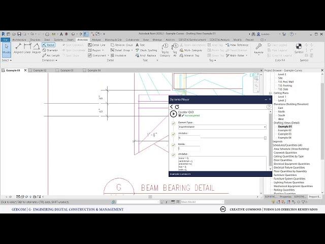 Escalar todos los archivos CADs en el modelo Revit con Dynamo | Demostrativo