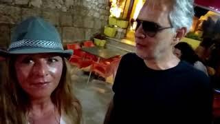 Andrea Bocelli, serata magica alle Isole Tremiti