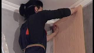 видео Обои для туалета: фото ремонта стен в интерьере (жидкие, виниловые)