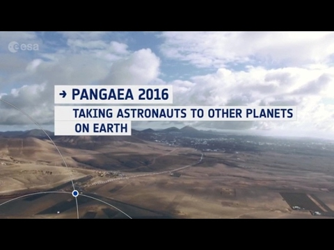 Pangaea 2016: Taking astronauts to other planets  on Earth