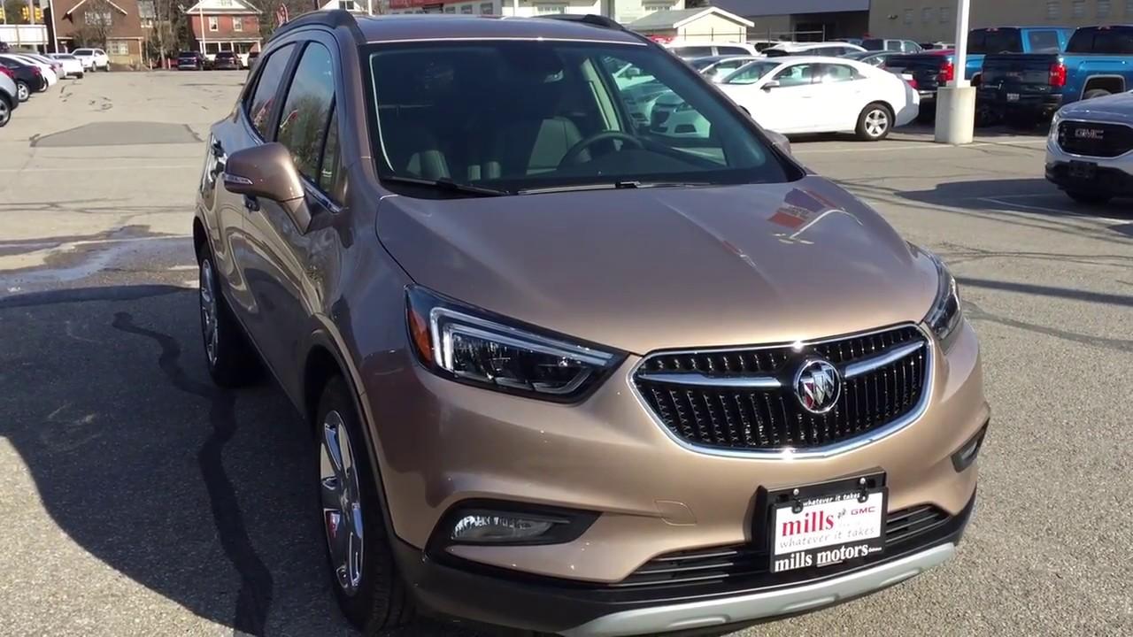 2018 Buick Encore Fwd Navigation Heated Steering Wheel Sunroof
