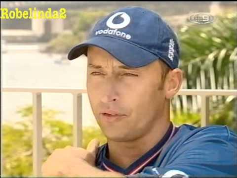 NASSER 'INSANE' HUSSAIN 2002 INTERVIEW IN AUSTRALIA