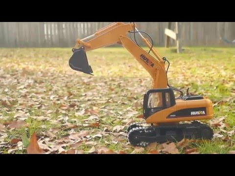 Costumer Review - 15 Channel Full Functional Excavator Remote Control Construction Tractor
