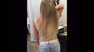 видео Как выглядят нарощенные волосы