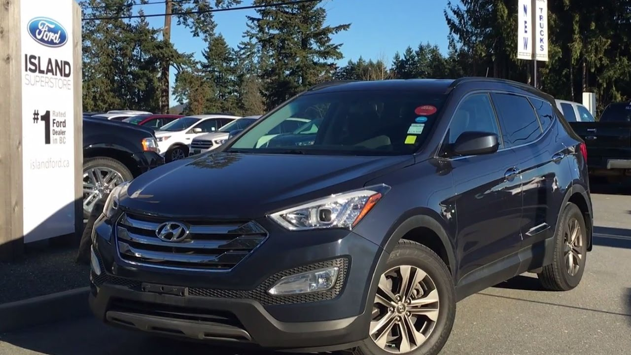 2014 hyundai santa fe sport awd premium heated seats review island ford youtube. Black Bedroom Furniture Sets. Home Design Ideas