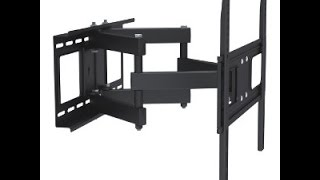 309049BK - Full-Motion Dual-Arm TV Wall Mount: 32