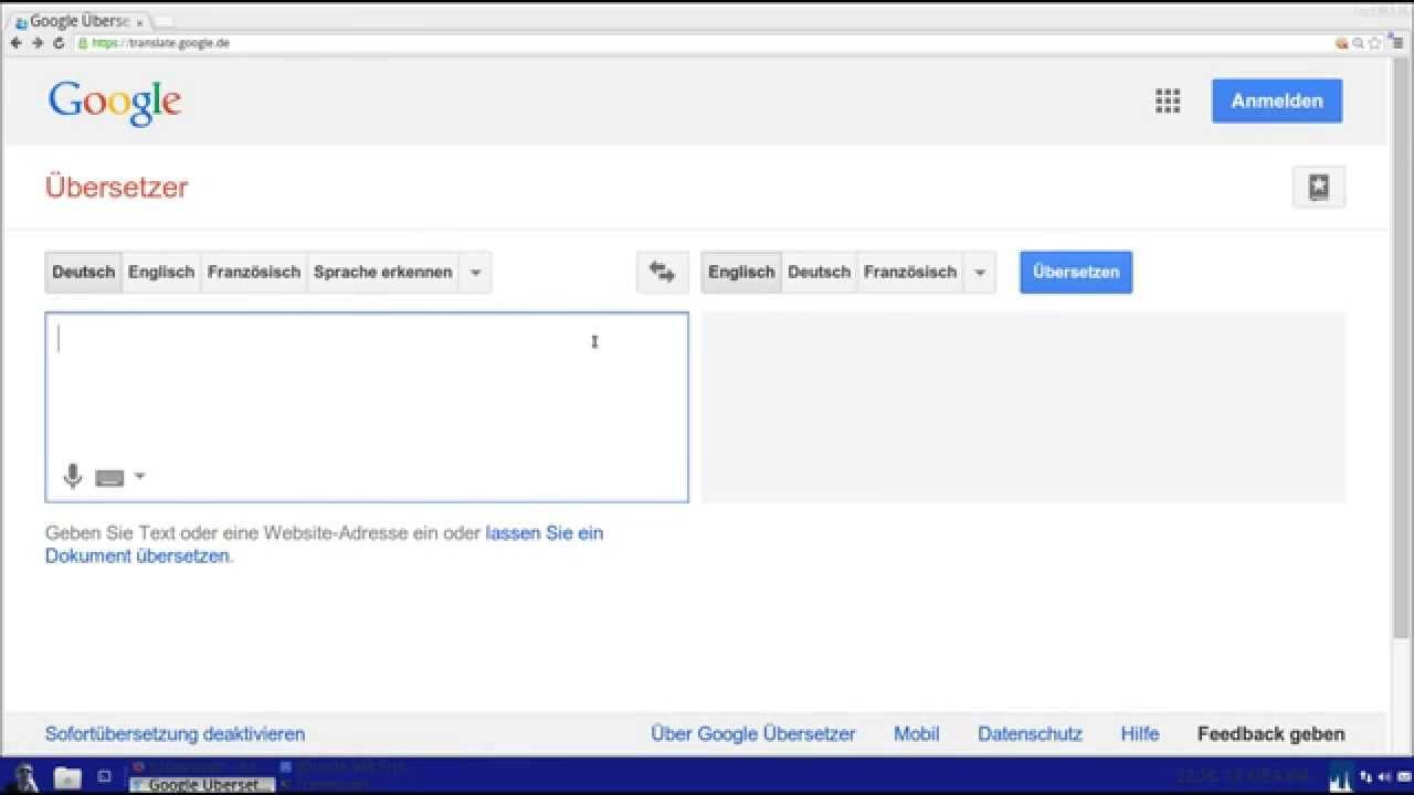 Spracheingabe Automatisch übersetzen Youtube