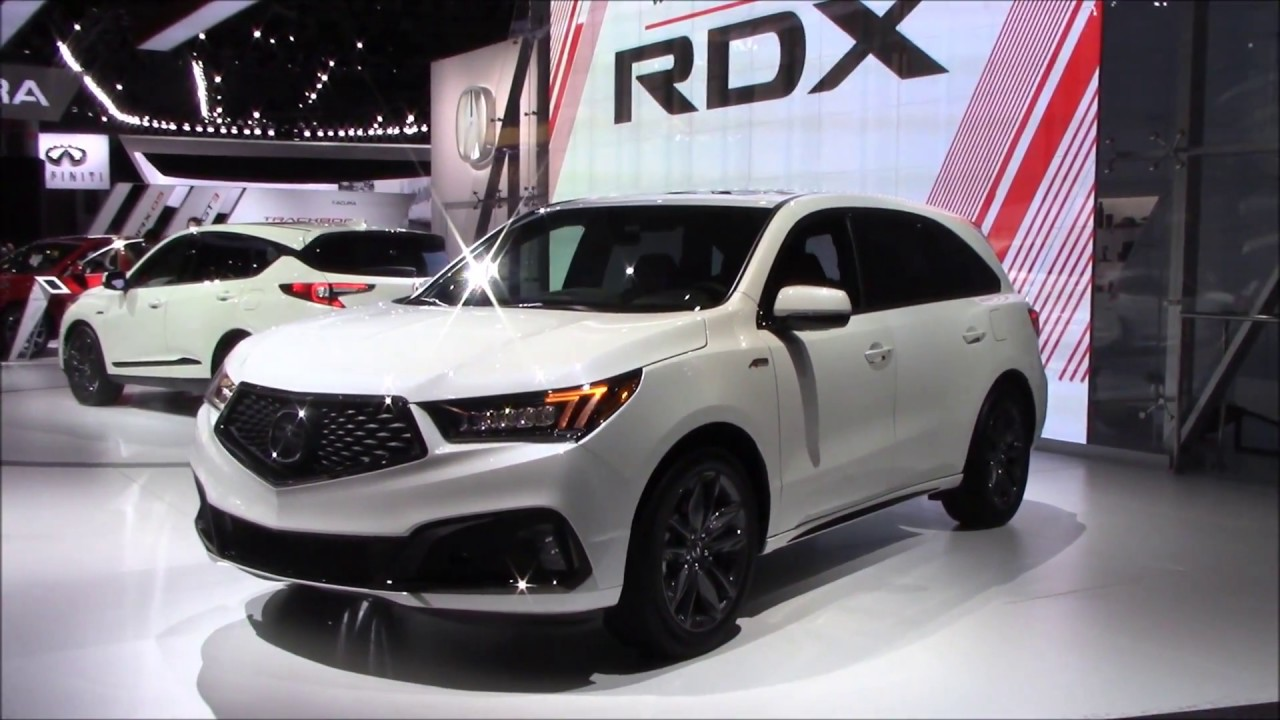 2019 Acura Mdx A Spec New York International Auto Show 2018