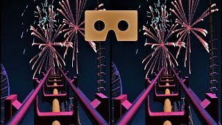VR 3D video Roller Coaster 10 Американские Горки для VR очков 3D SBS VR box
