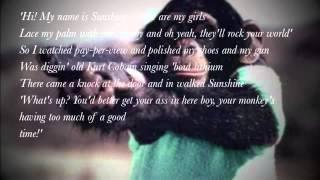Robbie Williams- Me and my monkey (lyrics)