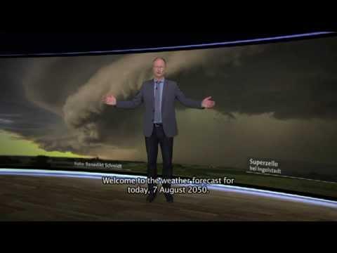 WMO Weather Forecast 2050 - Germany