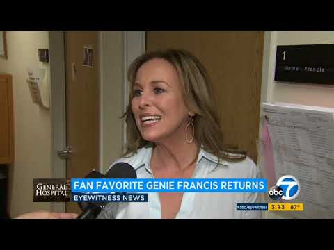 ABC7 073118 Genie Francis Returns to GH