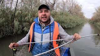 Днестр, Турунчук, рыбалка на Хищника, крупная щука в канале